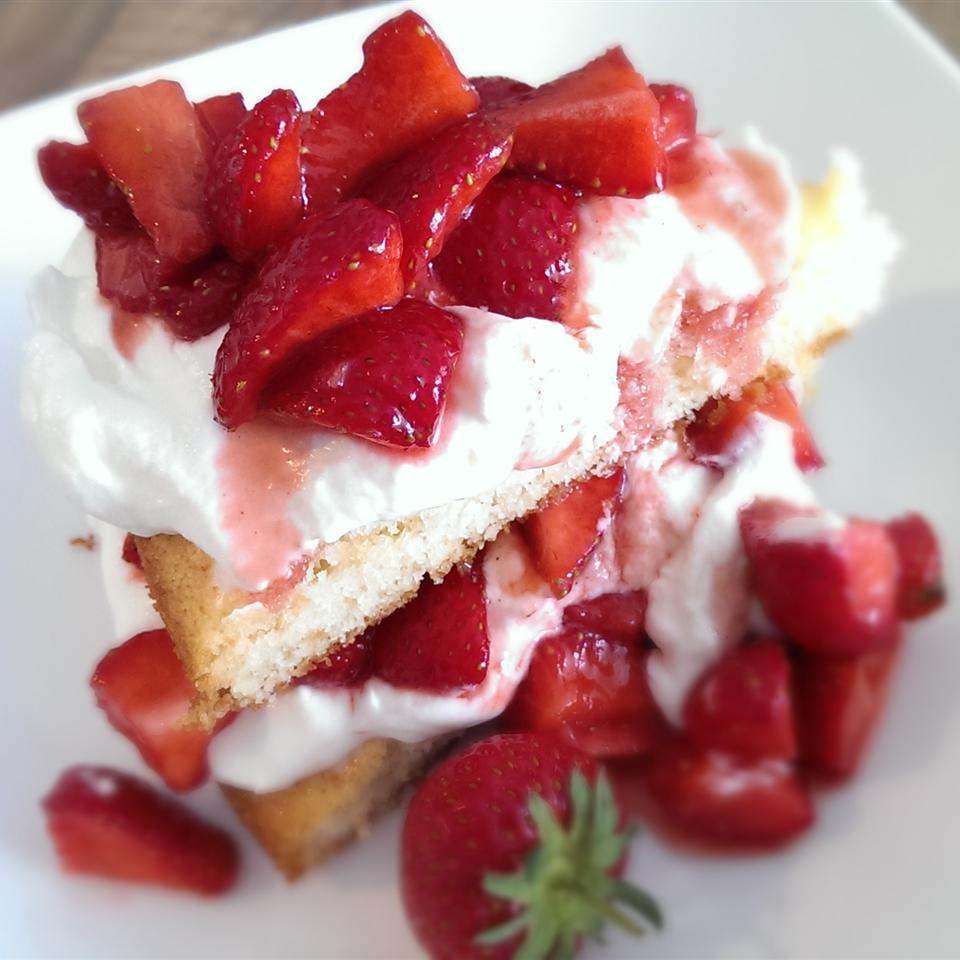 Cottage Pudding (Cake for Strawberry Shortcake)