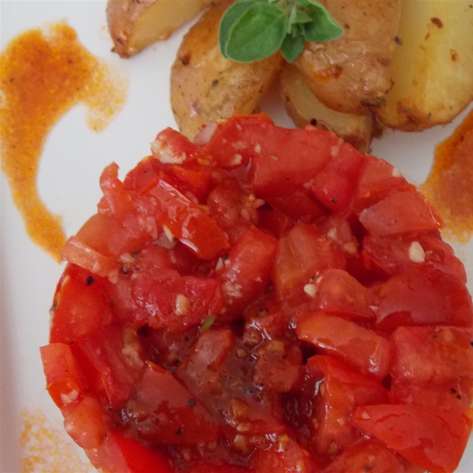 Fresh Cherry Tomato Relish