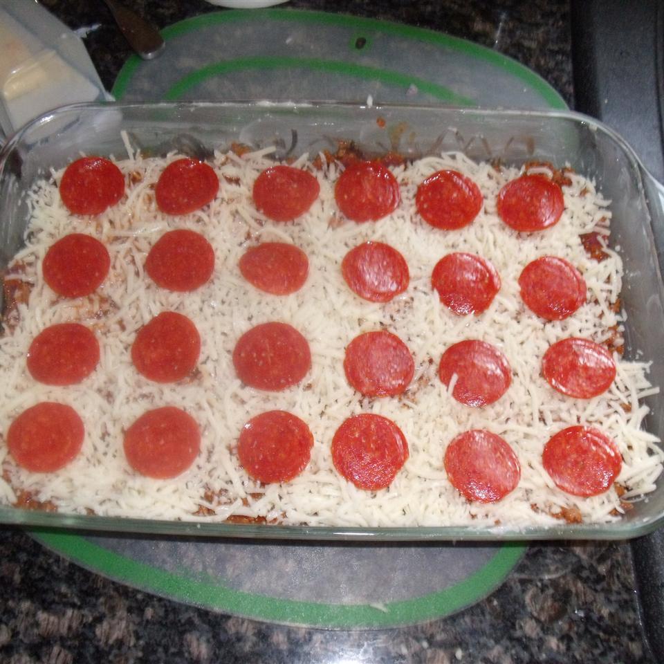 Gluten-Free Upside-Down Pizza single dad
