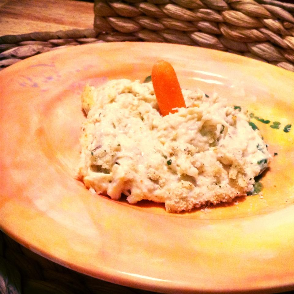 Skinny Maryland Crab Dip Appetizer