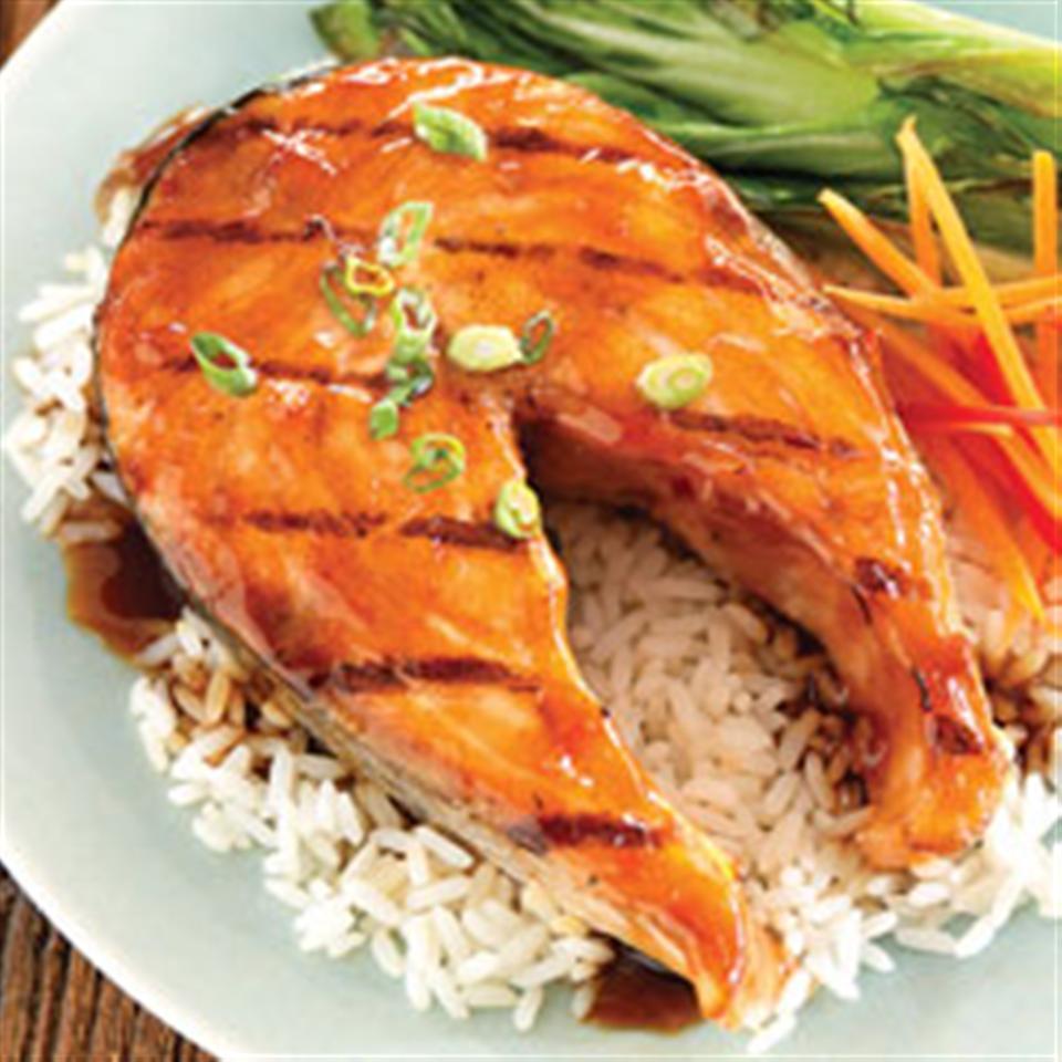 Teriyaki Ginger Salmon Marinade Trusted Brands