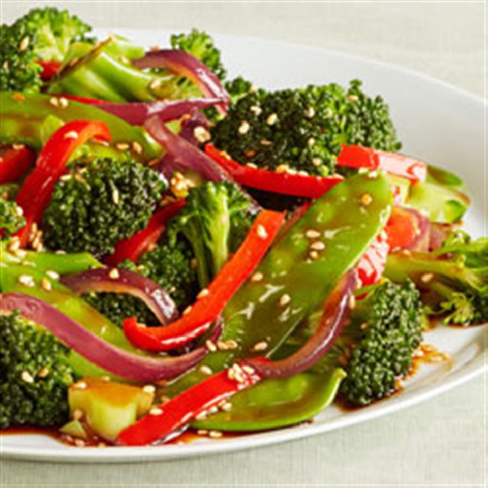 Sesame Vegetable Stir-Fry Trusted Brands