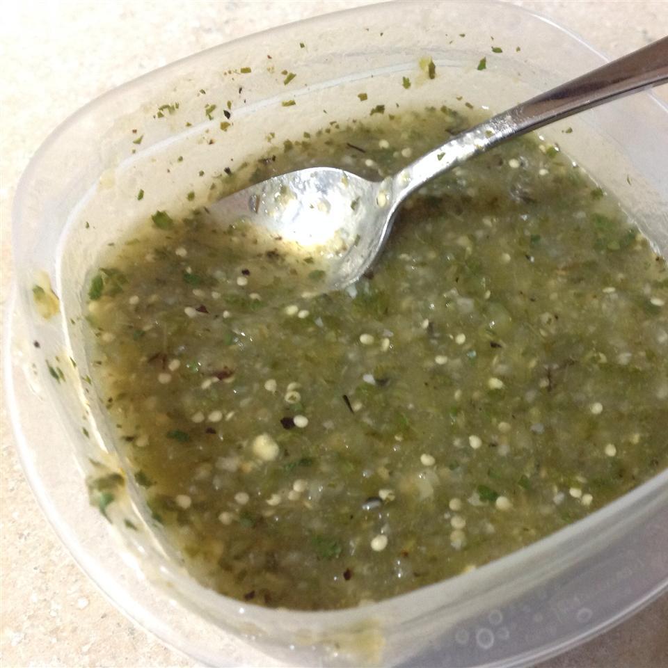 Tomatillo Salsa Verde Gumby