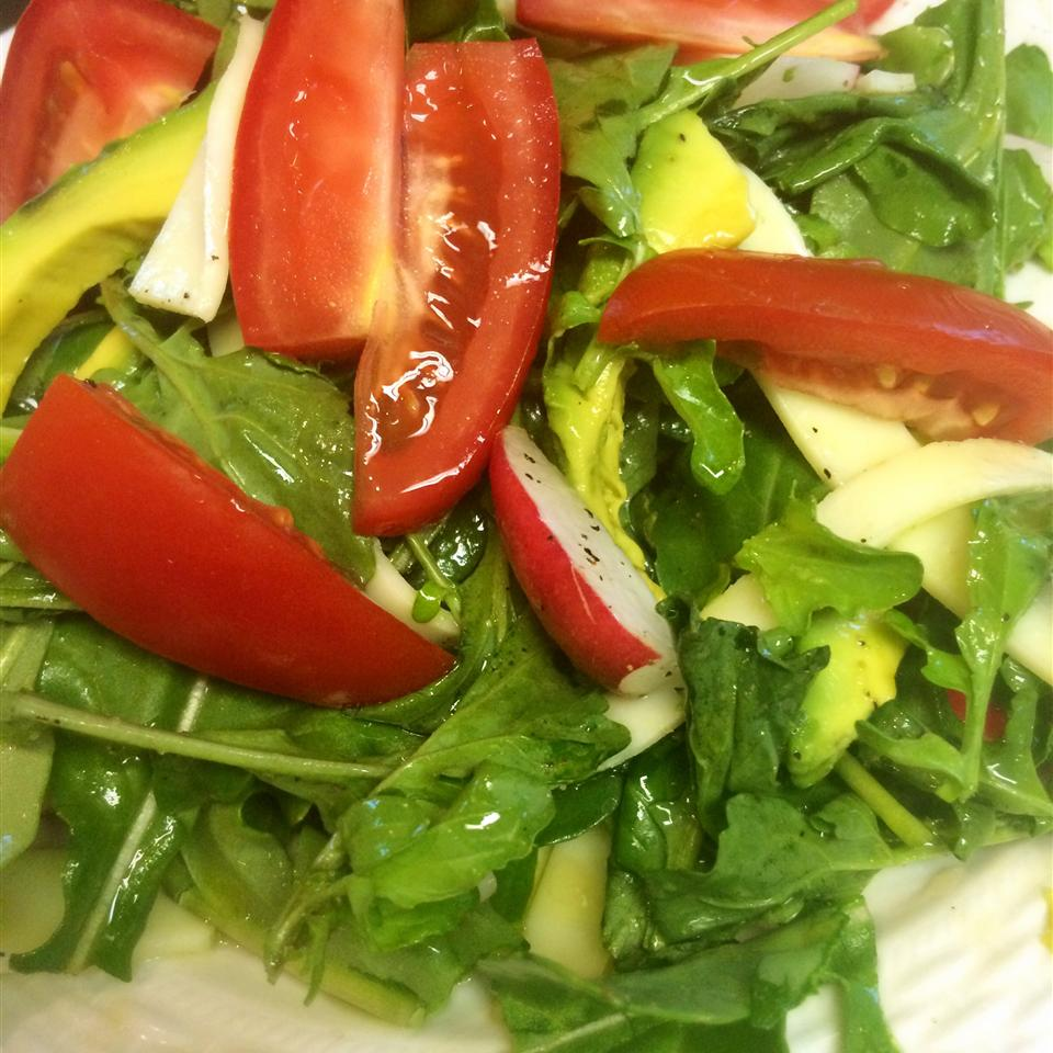 Easy Arugula Salad