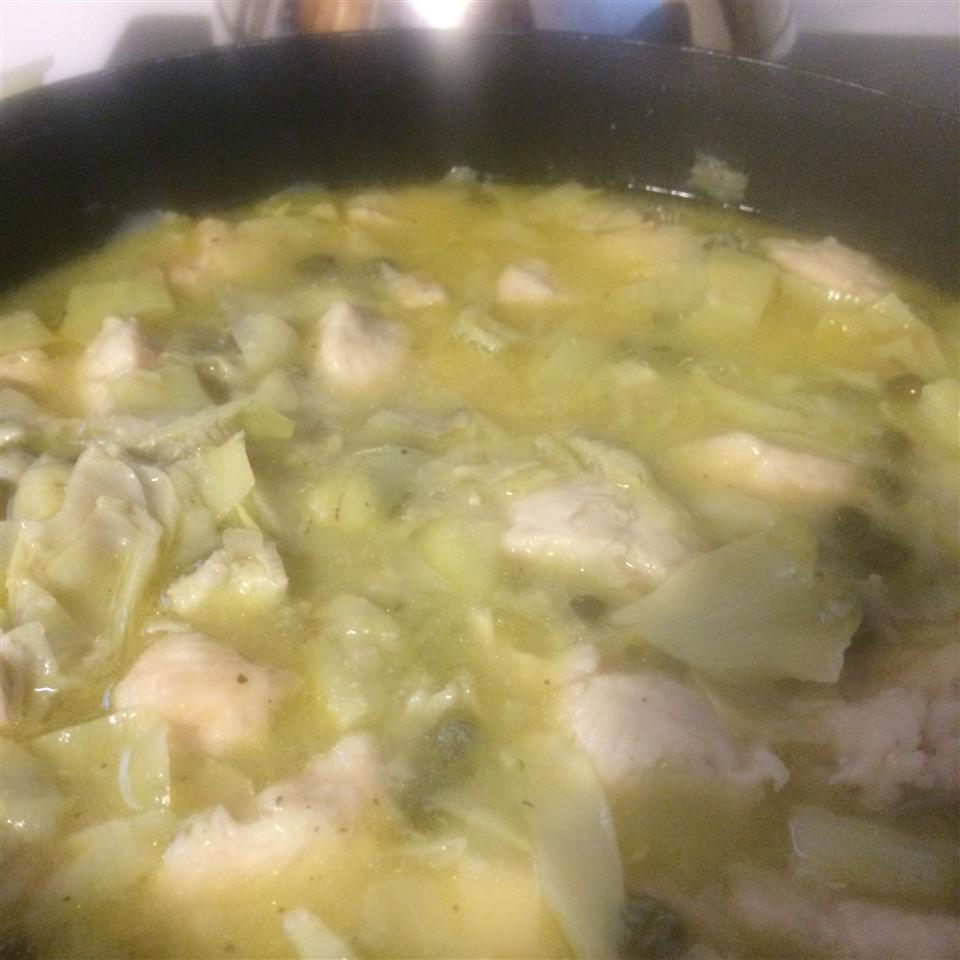 Chicken Piccata with Artichoke Hearts ShiriL098