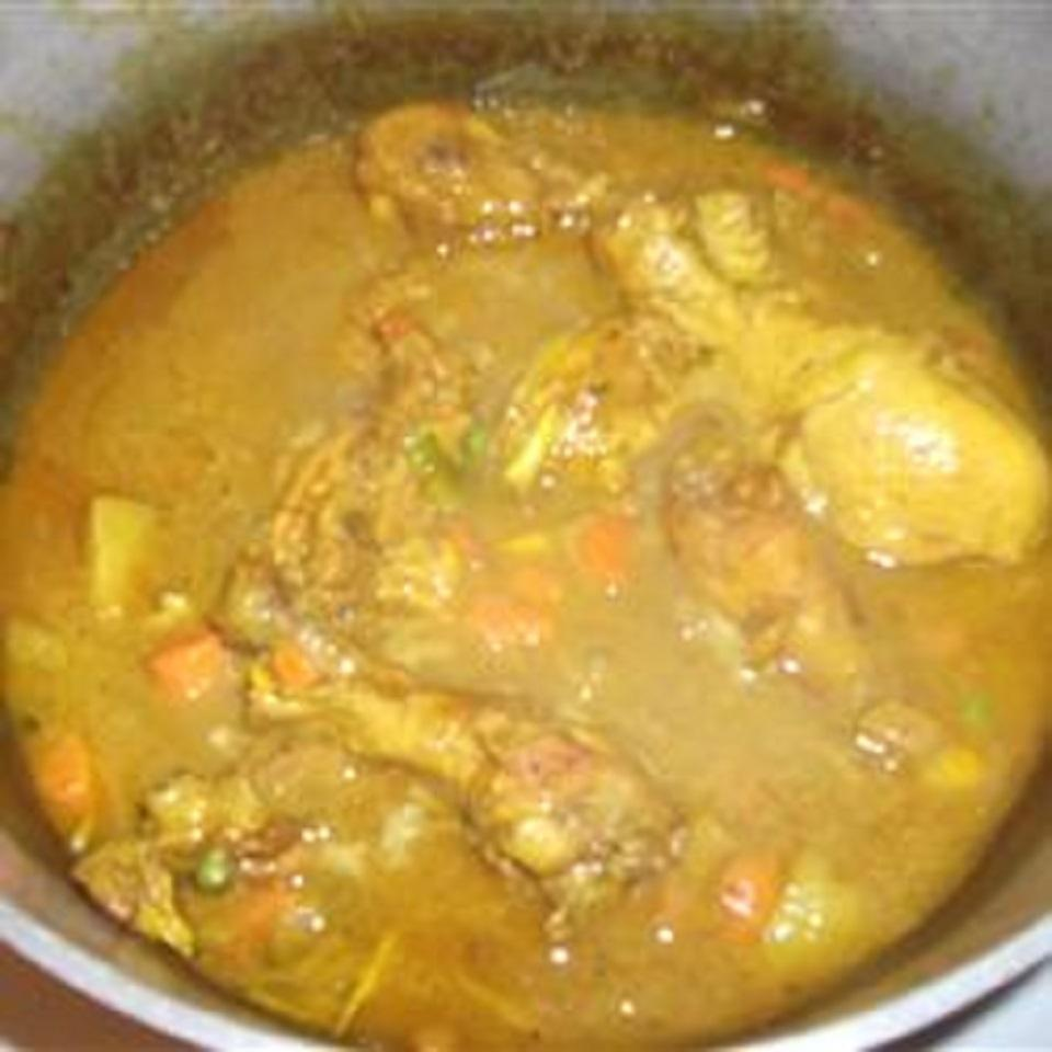 Jamaican Curry Chicken camsmum