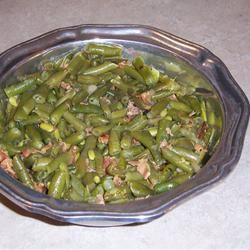 Savory Green Beans Kristin Cather