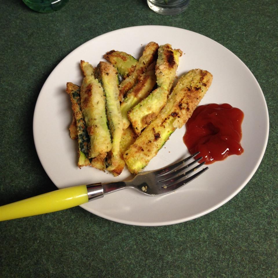 Low Carb Zucchini Fries The_batty_cook