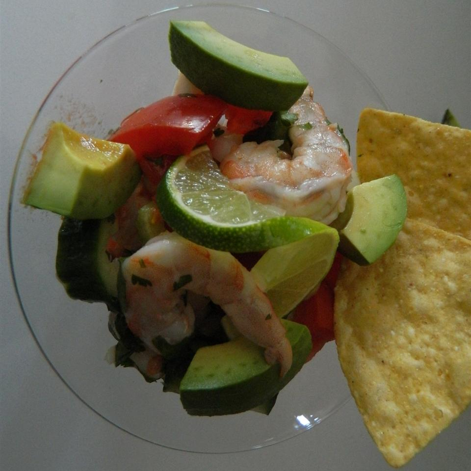 Bloody Mary Ceviche