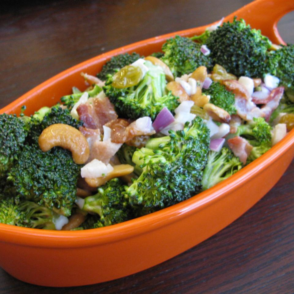 Broccoli-and-Bacon Salad