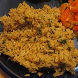 Orange Cilantro Rice Die Hummel