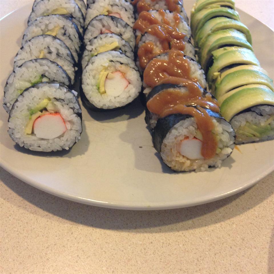 California Roll Sushi allison