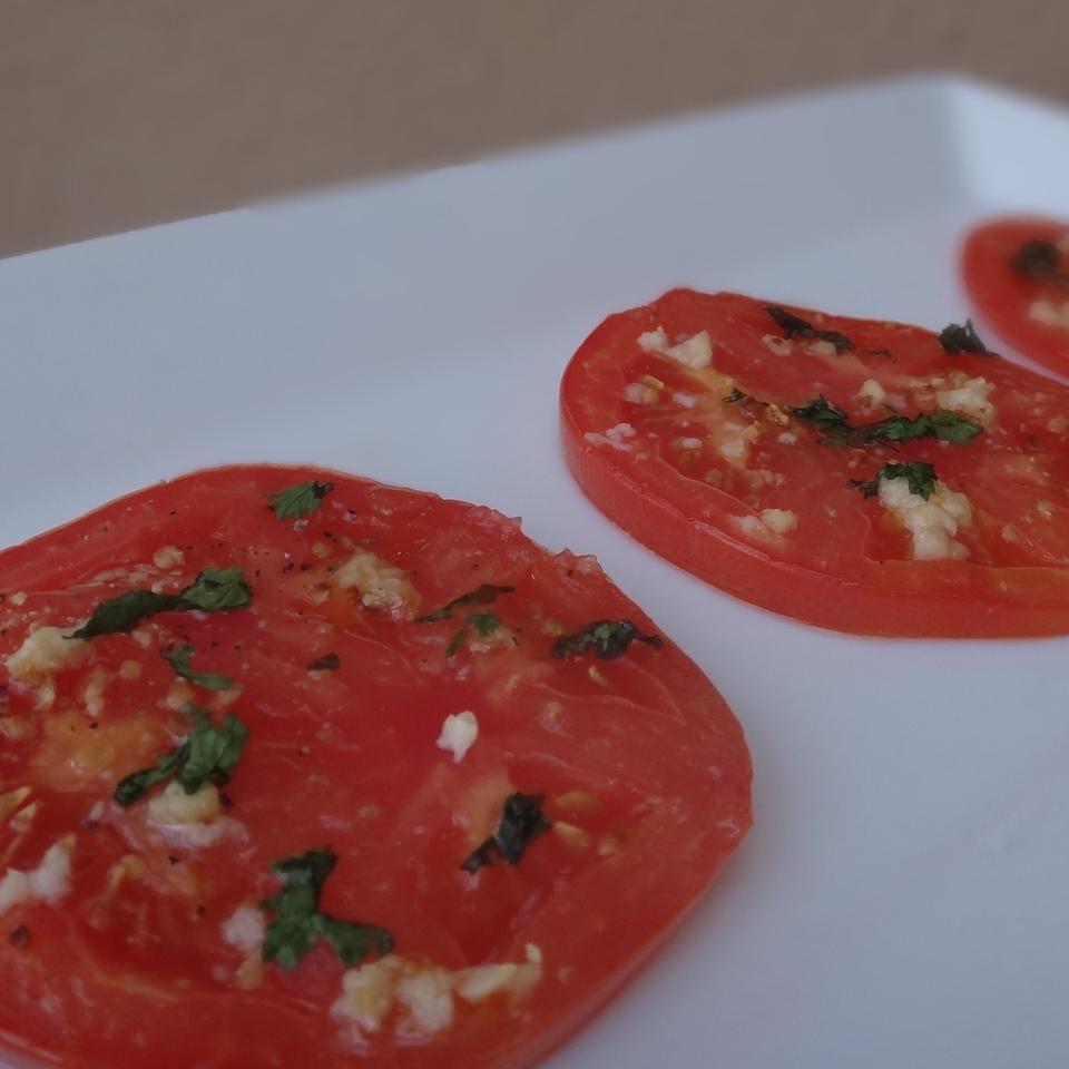 Baked Tomato Slices House of Aqua