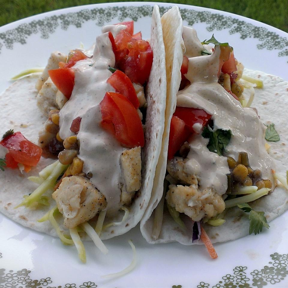 Grilled Fish Tacos with Chipotle-Lime Dressing Magellan007