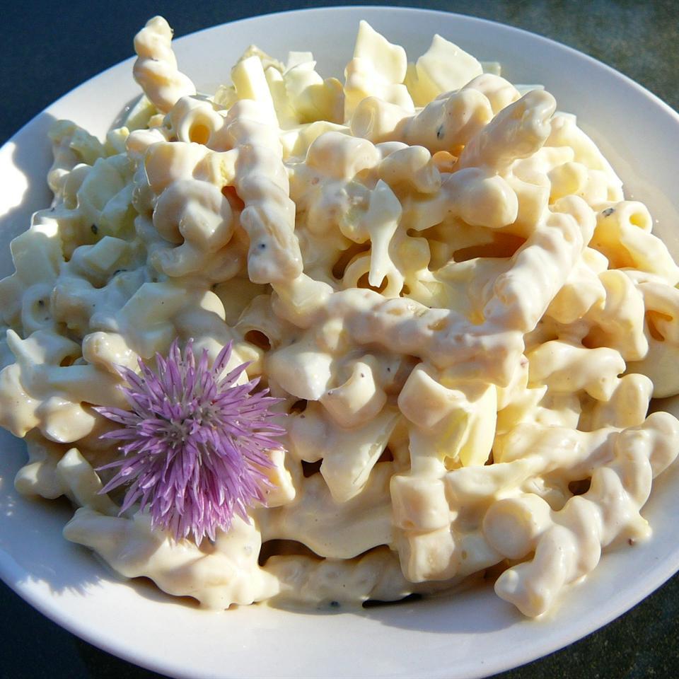 Honey-Mustard Macaroni Salad Molly