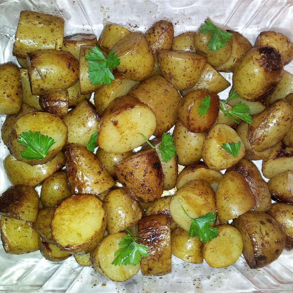 Balsamic Grilled Baby Potatoes CanadianCook