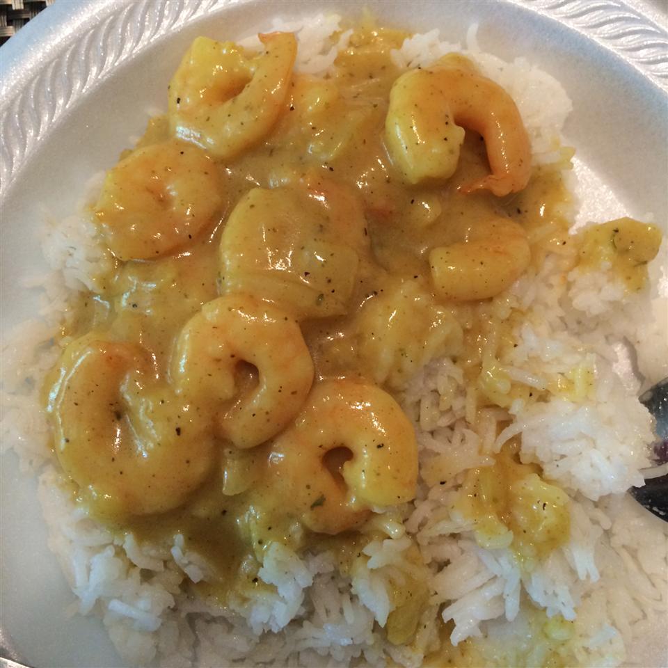 Shrimp Curry (My Dear Mudder's Version)