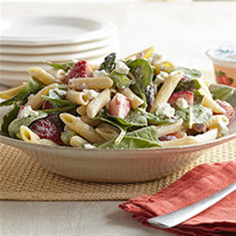 Strawberry-Asparagus Pasta Salad Trusted Brands