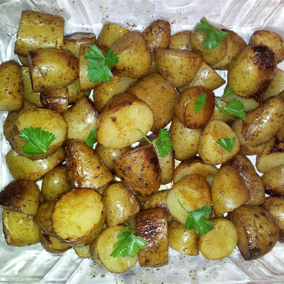 Balsamic Grilled Baby Potatoes