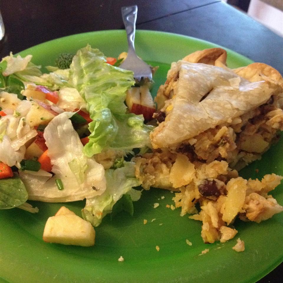 Southwest Chicken Pie