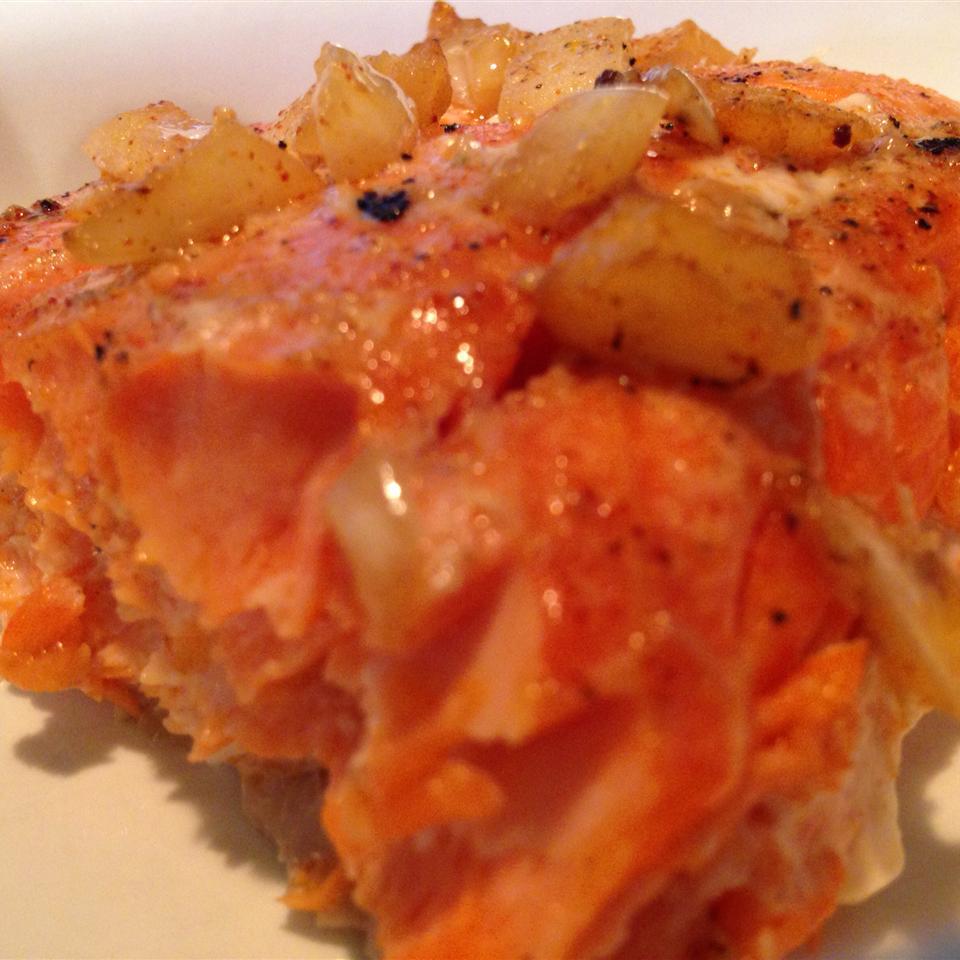 BBQ Salmon in Butter Sauce bikerfamily
