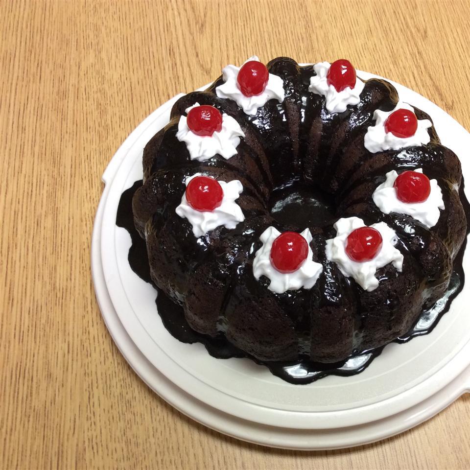 Quick Black Forest Cake Donna