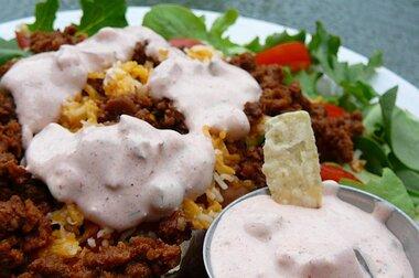 emilys dressing for taco salad recipe