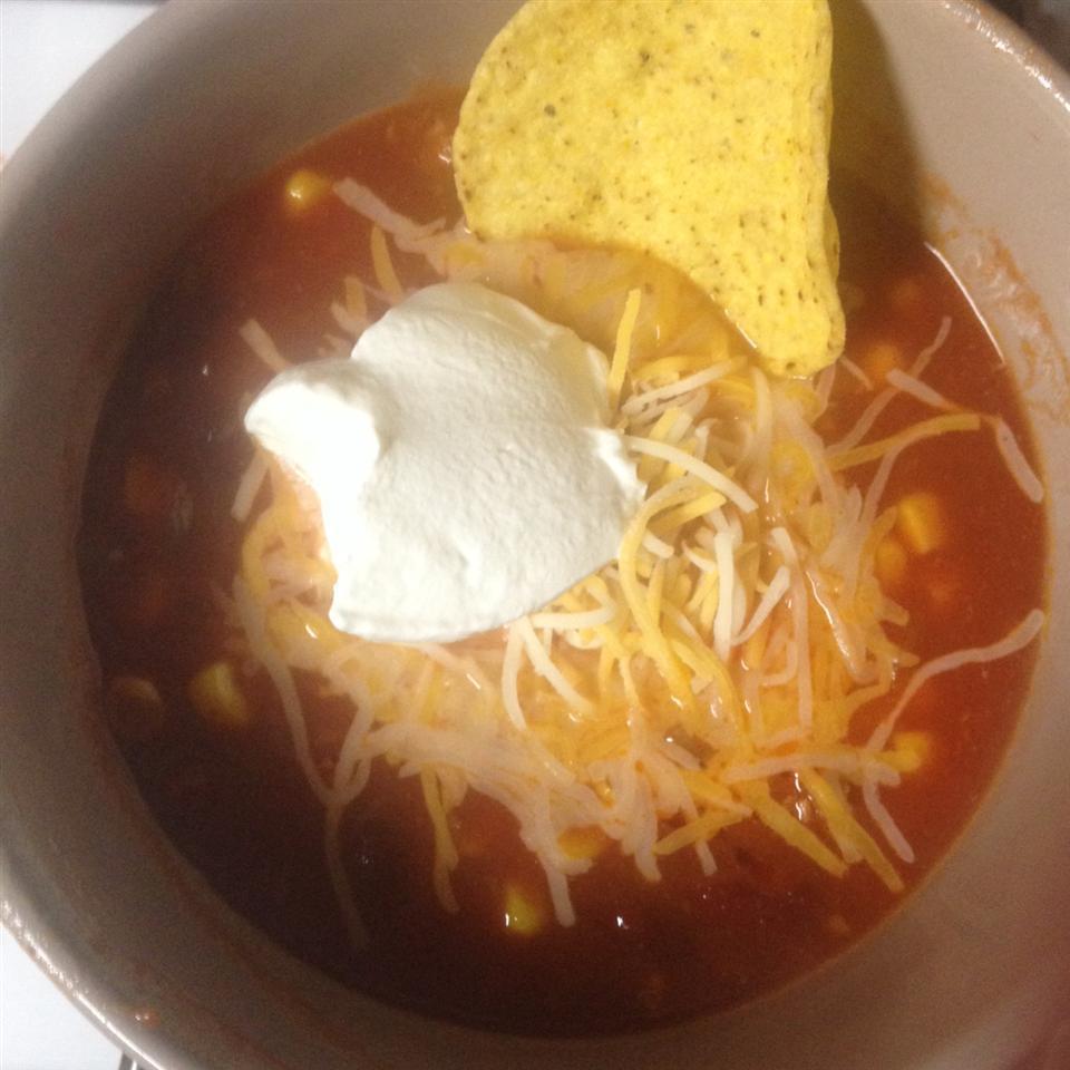 Becca's Taco Soup elba