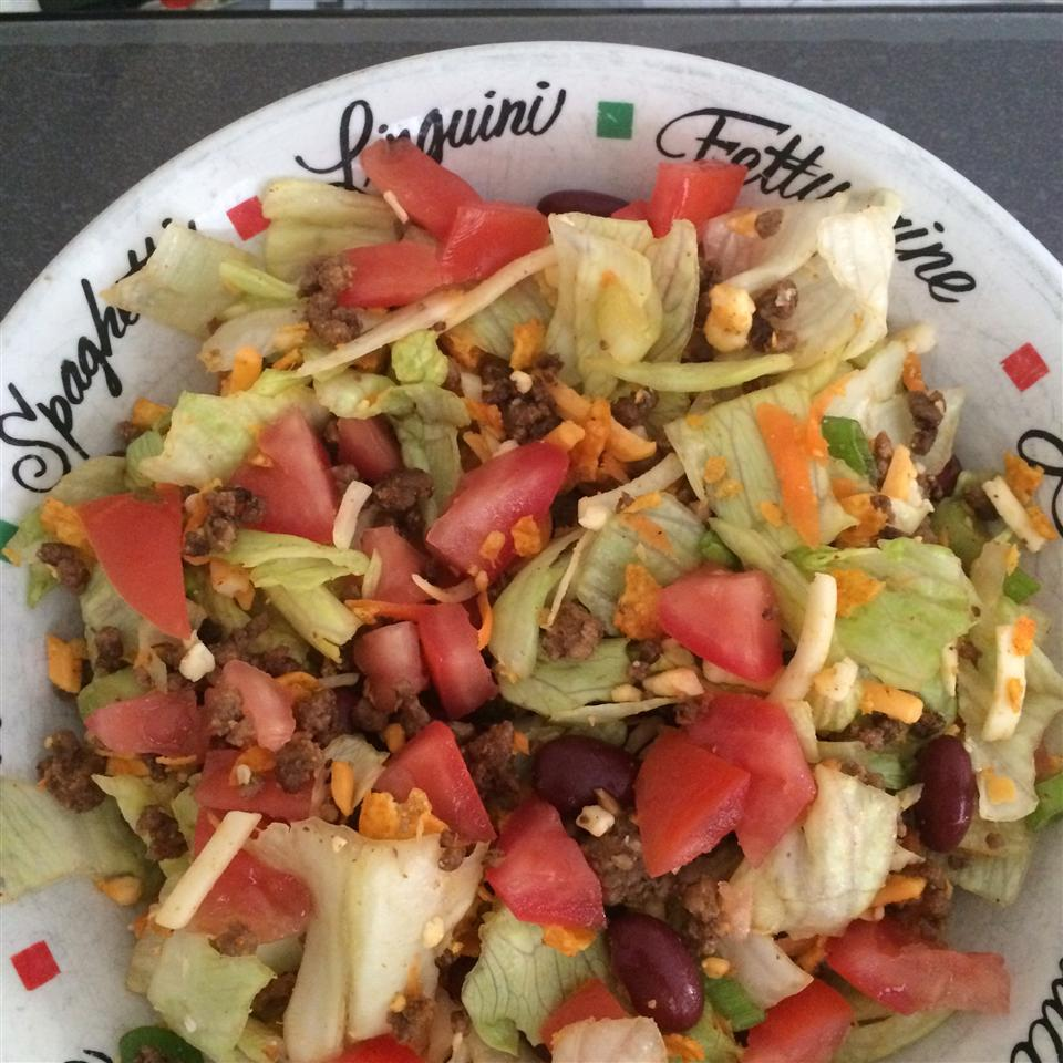 Joy's Taco Salad Char