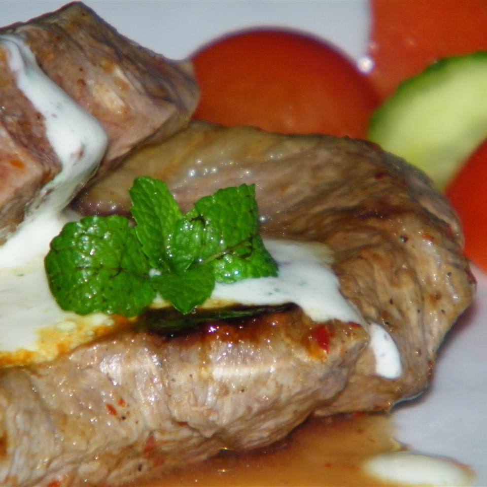 Lamb Chops with Minted Yogurt Sauce Seattle2Sydney