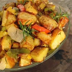 Early Morning Oven Roasted New Potatoes GodivaGirl