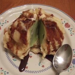 Tempura Fried Ice Cream Tricia