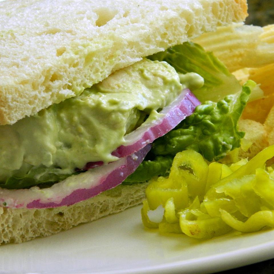 Honey Avocado Chicken Salad