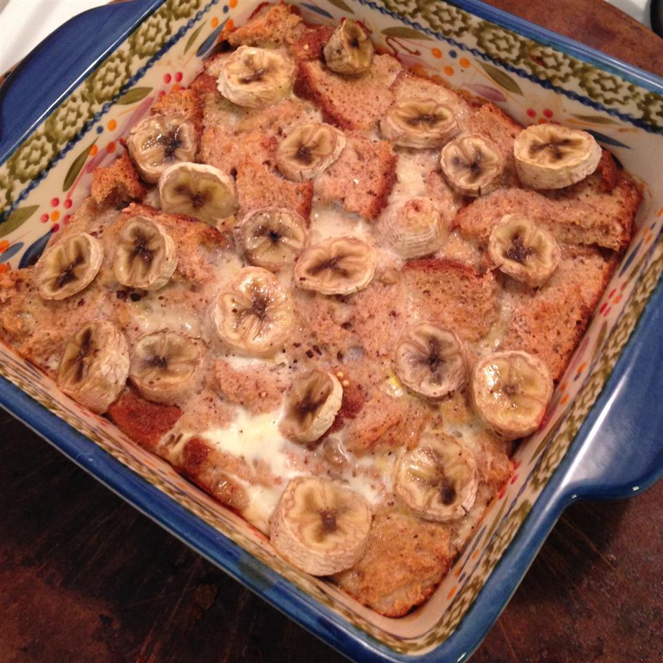Healthier Bread Pudding II MsJuniorMints