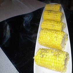 Garlic Lover's Grilled Corn Janine