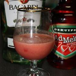 Watermelon Vodka Slush belle