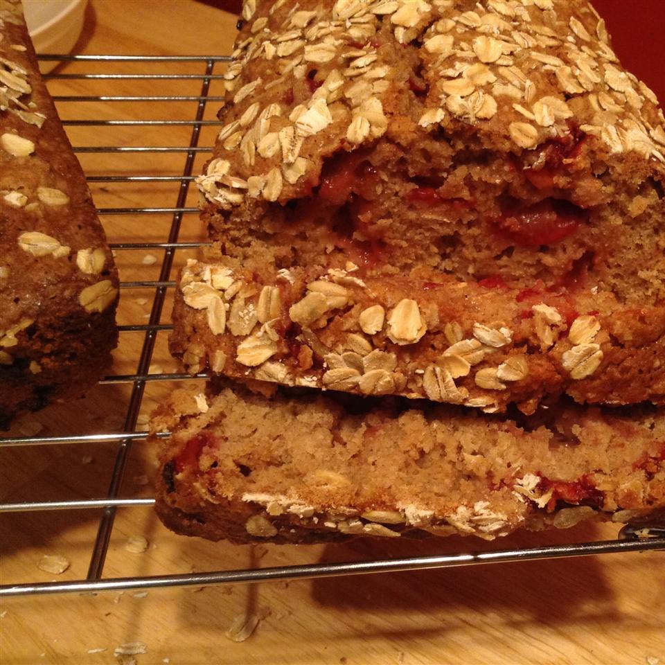 Oatmeal Strawberry Bread christylynn