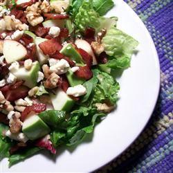 Apple Blue Cheese Salad SunnyByrd