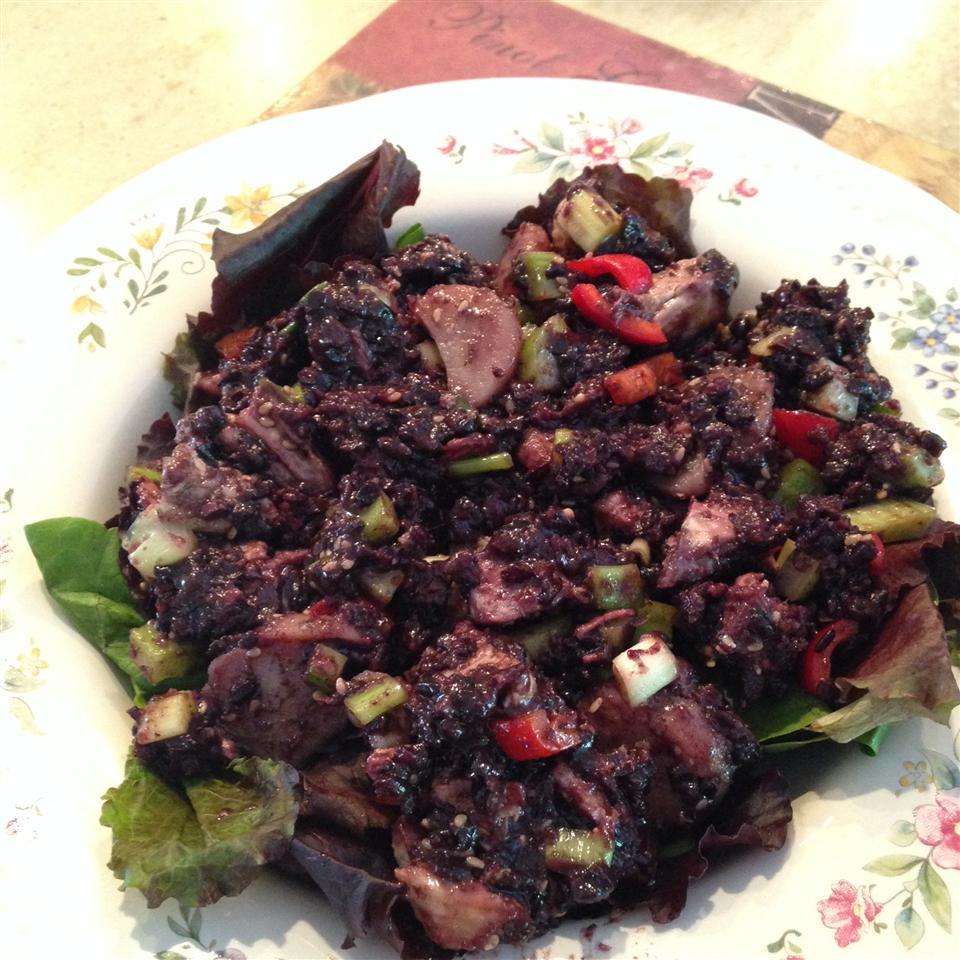 Chinese Chicken Rice Salad sal