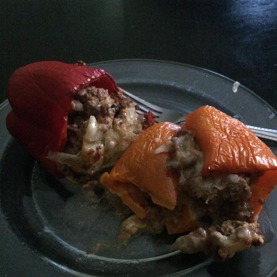 Fiesta Stuffed Peppers dtola