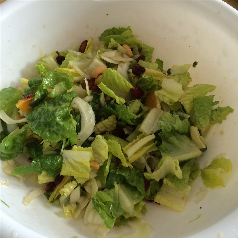 Spring Salad with Fennel and Orange ming