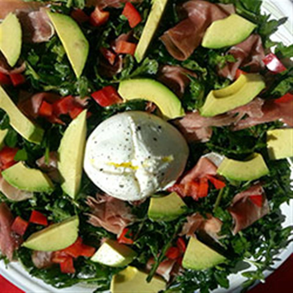 Avocado Burrata Salad Trusted Brands