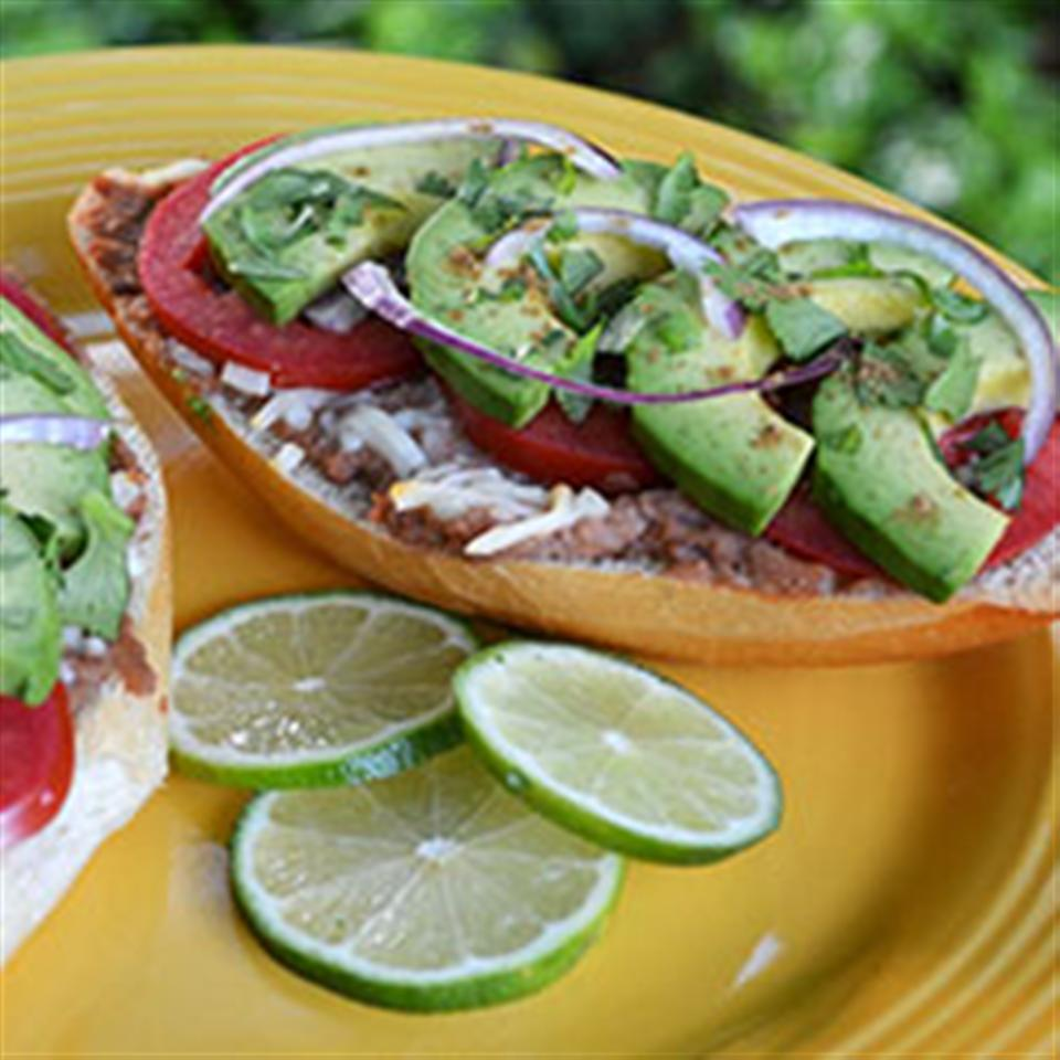 Molletes with Deconstructed Guacamole Trusted Brands