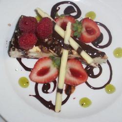 Dark Chocolate Cream Cheese Cake James Jackman