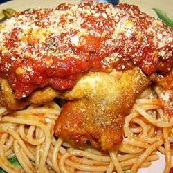 Simply Parmesan Chicken LukesMommy
