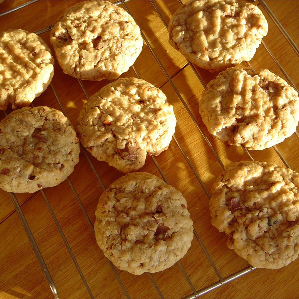 """While there can be endless variations of additions to add to these cookies, reviewer VRGARCIA says it's the dough that makes them stand out: """"But it was the basic recipe for the dough that makes these cookies. Mine turned out outstanding and I'm making another batch right away to ship to my daughter away at college."""""""