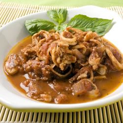 Calamari in Red Wine and Tomato Sauce Trusted Brands
