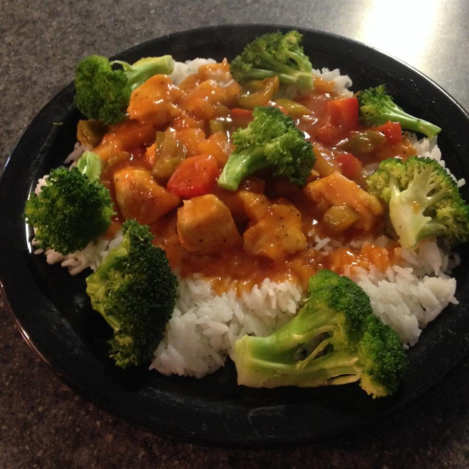 Easy Sweet and Sour Chicken cookkay