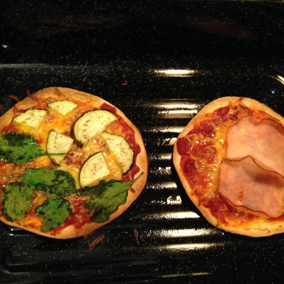 Veggie Pita Pizza jodi
