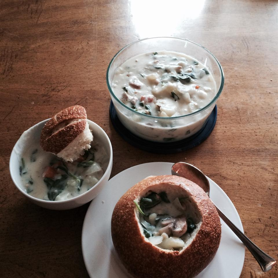 Potato Chowder Soup I